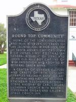 The History of Round Top Texas